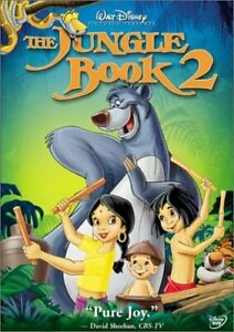GOOD DVD WALT DISNEY The Jungle Book 2 by John Goodman