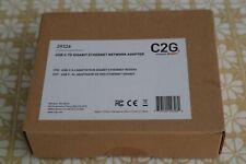 Brand New C2G USB-C to Gigabit Ethernet Network Adapter #29063