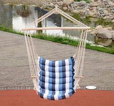Deluex Indoor/Outdoor Hammock Swing Chair Hanging rope Quilted Garden/Yard/Porch