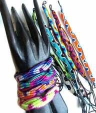 Woven Friendship Bracelets, Wholesale, Cotton Wristband, Macrame, Festival Bands