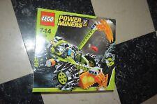 BOITE  JEU LEGO POWER MINERS   BOITE 8959 ENGIN VEHICLE