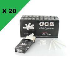 Filtre OCB ultra slim en stick lot 20 boites de 120 Filtres 5,7 mm