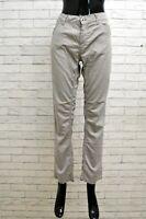 Pantalone Donna Dondup Taglia Size 27 Jeans Pants Cotone Pantalon Woman Grigio