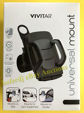 Vivitar Smartphone Phone Bike Golf Stroller Gym Equipment Mount Holder Fitness