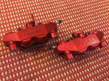 03 04 Suzuki GSX-R 1000 04 05 GSXR 600 750 Candy Red Powder Coated Calipers