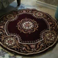 Momeni Harmony 100% wool rug Burgundy NEW