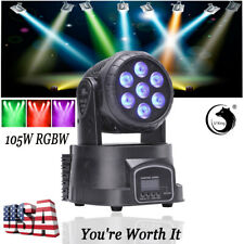 105W 7 LEDs U`king RGBW Moving Head Stage Light DMX Color Mixing Disco Party KTV