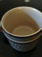 Denby Pottery Milk Jug. Chevron Pattern.Genuine Denby Pottery Item.