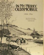 In My Merry Oldsmobile Sheet Music Cover Fine Art Lithograph COA S2