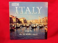 ITALY songs by the DiMara Sisters Roulette R 25005 33rpm LP