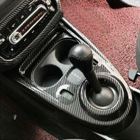 Carbon Optik Mittelkonsole Abdeckung Blende für Smart Fortwo Forfour 453
