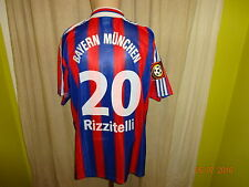 "Bayern MONACO ADIDAS MAGLIA 1995/96 ""OPEL"" + N. 20 Rizzitelli Taglia XL Nuovo"