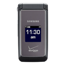 Samsung SCH U320 Haven Cellular Phone (VERIZON) Cell Flip Mobile ~Charcoal Gray~