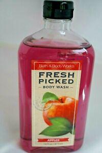 BATH AND BODY WORKS FRESH PICKED APPLES BODY WASH 16 OZ RARE!