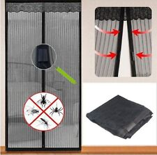 Ashley BB-IK119 Magnetic Insect Door  Mesh Curtain Black Colour, Balconies Patio