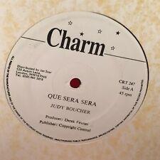 "JUDY BOUCHER Que Sera Sera - 1995 UK 12"" vinyl single EXCELLENT CONDITION"