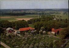 EMMEN bei HOLLENSTEDT Luftbild AK Hotel Kaffee-Garten alte Postkarte 70er Jahre