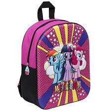 MY LITTLE PONY MLP EVA 3D Effect Girls Backpack / Bag School / Nursery / Travel