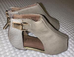 Girls Shoes - Size 3 Infant - River Island Sandals