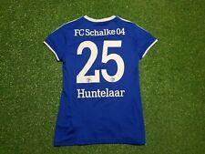 FC Schalke 04 Damen Trikot L 2012 2013 Adidas Shirt Jersey Gazprom Huntelaar