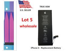 Lot Of 5 Oem Original 1810mAh Internal Battery Replacement for iPhone 6 4.7