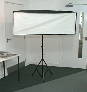 Bowens Wafer 140 Strip Soft Box BW-118 - 50x140cm Complete Kit Incl Attachment