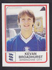 Panini - Football 84 - # 42 Kevan Broadhurst - Birmingham