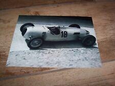 Photo / Photograph Bernd Rosemeyer AUTO UNION Type C GP d'Allemagne 1936 //