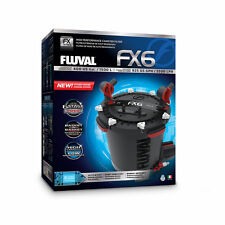FLUVAL FX6 AQUARIUM CANISTER FILTER with COMPLETE MEDIA