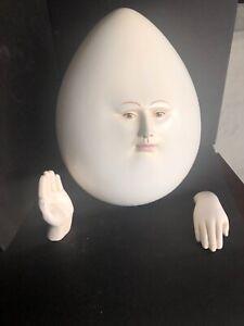 Rare Sergio Bustamante Modern Sculpture EGG HEAD #39/100