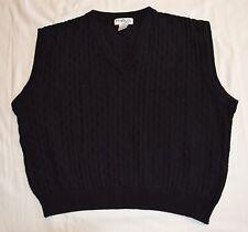 Penguin Sport Men's V-Neck Sleeveless Golf   Vest black, sz M (41, plb5)