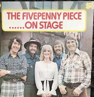 THE FIVE PENNY PIECE....ON STAGE 1974 VINYL LP ~ One Up Label ~ Mint Vinyl.