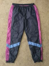 Vintage 80s Adidas Tracksuit Trackie Shell Suit Bottoms Pants - Size XXL