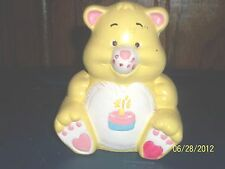 CERAMIC CARE BEAR CAREBEAR BIRTHDAY BEARS STATUE FIGURINE