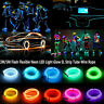 3M 5M Flash Flexible Neon LED Light Glow EL Strip Tube Wire Rope Car Party Light