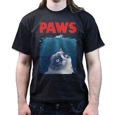 Grumpy Cat Jaws Paws NO NOPE Funny Internet Meme Facebook T-shirt