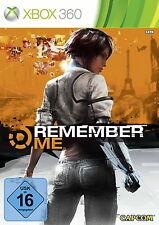 Remember Me para Xbox 360 * bueno * (con embalaje original)