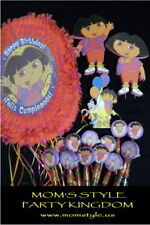 Dora Birthday  Party Deluxe package