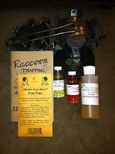Raccoon Beginner Trapping Package trap traps trapping