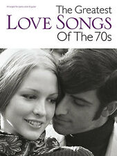 The Greatest Love Songs Of The 70s Music Piano Book PVG