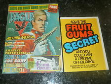 EAGLE Comic - Date 10/07/1982 - UK Paper Comic - With FRUIT GUM FLYER