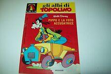 GLI ALBI DI TOPOLINO-N 796-PIPPO E LA FOTO ACCUSATRICE-DISNEY MONDADORI-8/2/1970