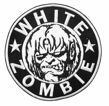 WHITE ZOMBIE CIRCLE MONSTER PATCH NEW OFFICIAL FREE SHIPPING U.S. ROB