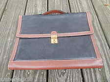 BALLY LEATHER MESSENGER BAG/ATTACHE/BRIEFCASE MADE IN ITALY INTERNATIONAL SALE