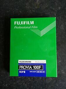 Fujifilm Provia 100F 4 x 5 Sheet Film Box of 20 Exp 5/21