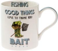 Comical Fishing Mug - Funny Fishing Gift Cup