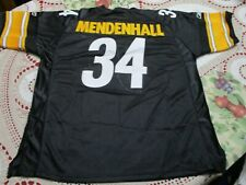 Pittsburgh Steelers Rashard Mendenhall #34 Fully Stitched Vintage Jersey-52 New