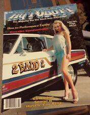 New Uncirculated July 1984 #13 Autobuff Car Magazine Polara Nova Camaro Mustang
