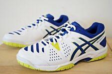 Asics Gel dedicar 4 para hombres Calzado para Tenis Zapatillas Size UK 7/EU 41.5 Blanco (MFZ)