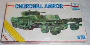 ESCI/ERTL 1/72 Churchill AMRCR Tank Plastic Model Kit # 8339